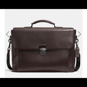 Coach Metropolitan Briefcase in chocolate brown